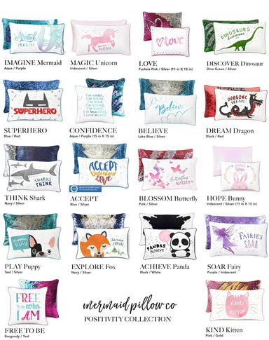 Get 3 Pillows for $57 (50% savings) - Mermaid Pillow Co