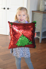 Holiday Mermaid Pillow [Limited Edition] - Mermaid Pillow Co