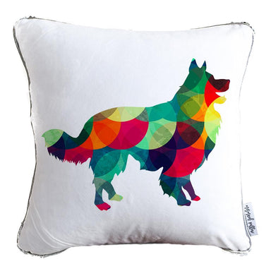 Designer Dog Pillow Cover: Border Collie