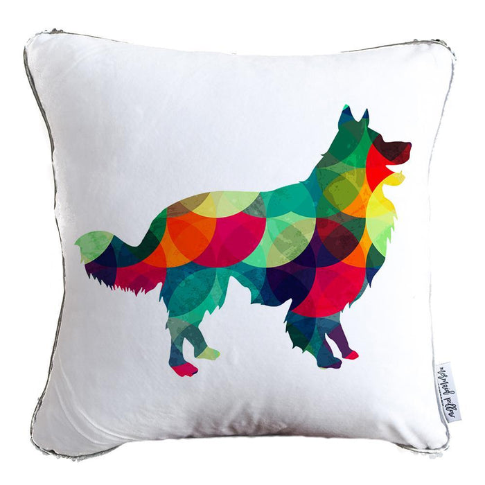 Designer Dog Pillow: Border Collie - COVER ONLY (Inserts Sold Separately)