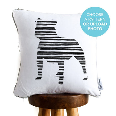 Designer Dog Pillow Cover: Bulldog Terrier