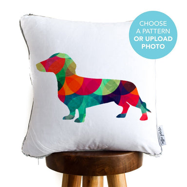 Designer Dog Pillow: Dachshund