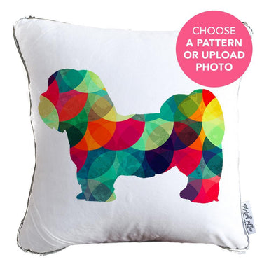 Designer Dog Pillow: Shih Tzu