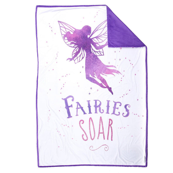 SOAR Fairy Blanket (100% Velvet) - Mermaid Pillow Co