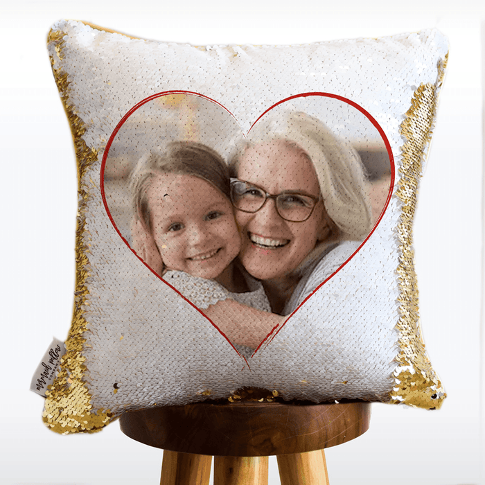 Grandmas are Gorgeous Sequin Pillow