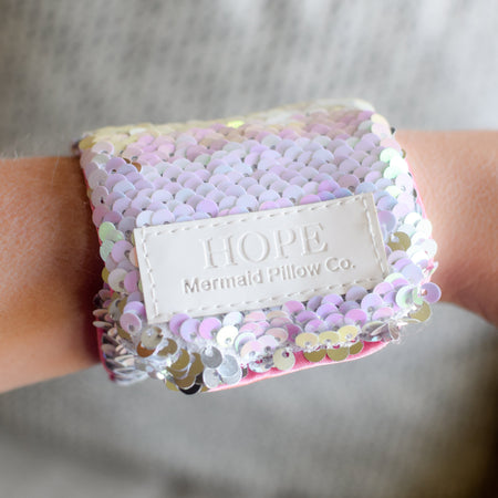*The Original* Magic HOPE Mermaid Bracelet w/ Reversible Sequins & Velvet Lining