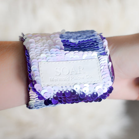 *The Original* Magic SOAR Mermaid Bracelet w/ Reversible Sequins & Velvet Lining