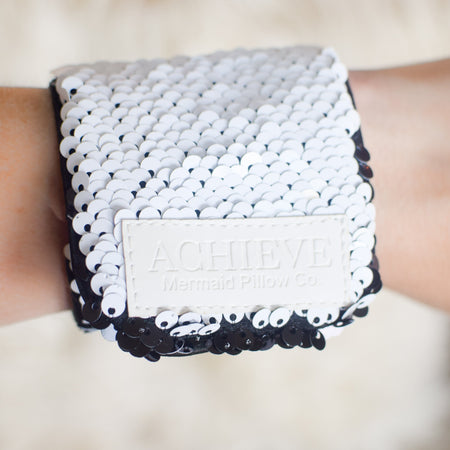 *The Original* ACHIEVE Mermaid Bracelet w/ Reversible Sequins & Velvet Lining