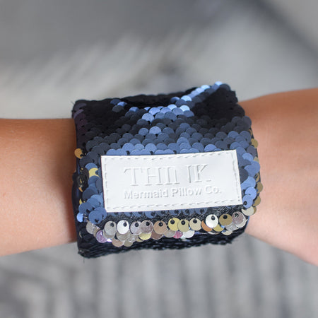 *The Original* Magic THINK Mermaid Bracelet w/ Reversible Sequins & Velvet Lining