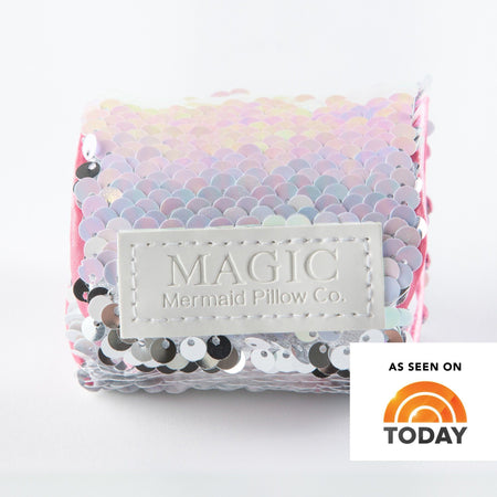*Velcro Original* - Magic UNICORN Mermaid Bracelet w/ Reversible Sequins & Velvet Lining - Mermaid Pillow Co
