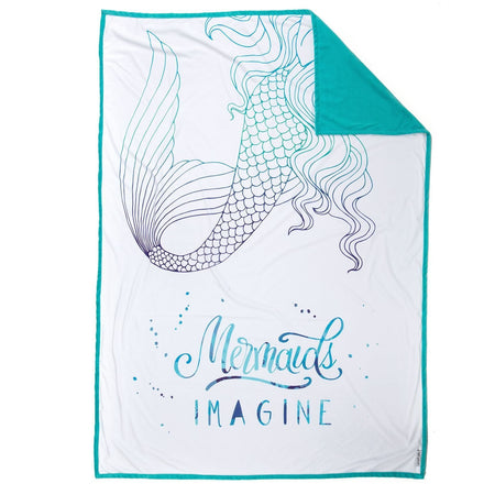 IMAGINE Mermaid Blanket (100% Velvet) - Mermaid Pillow Co