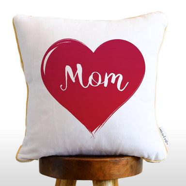 Mom Pillow: Your Mom's photo Reversible Sequin Pillow!
