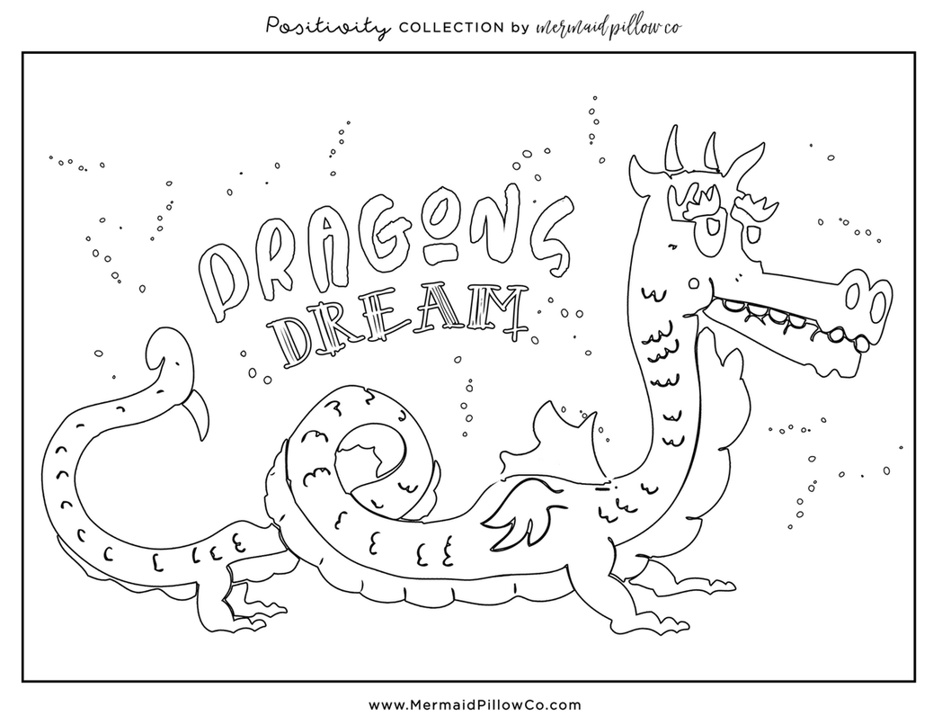 Positivity Coloring Book FREE