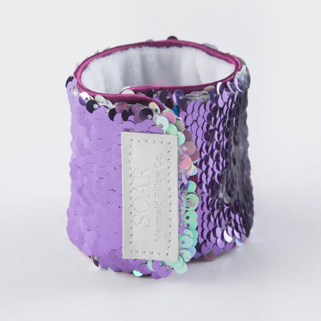 *The Original* Magic SOAR Mermaid Bracelet w/ Reversible Sequins & Velvet Lining - Mermaid Pillow Co