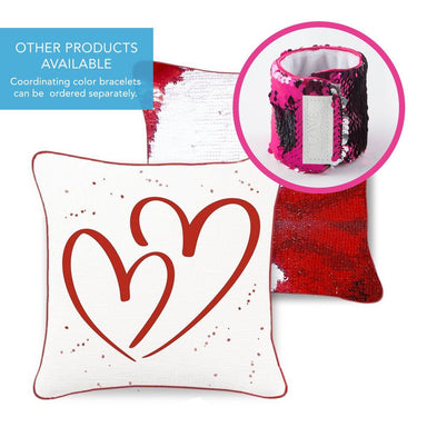 American Heart Association LOVE Mermaid Pillow - Mermaid Pillow Co