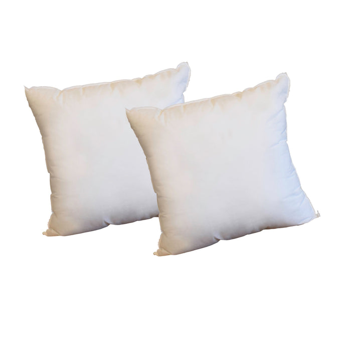 16 x 16 Pillow Inserts *Made in Seattle, USA* (2-Pack)