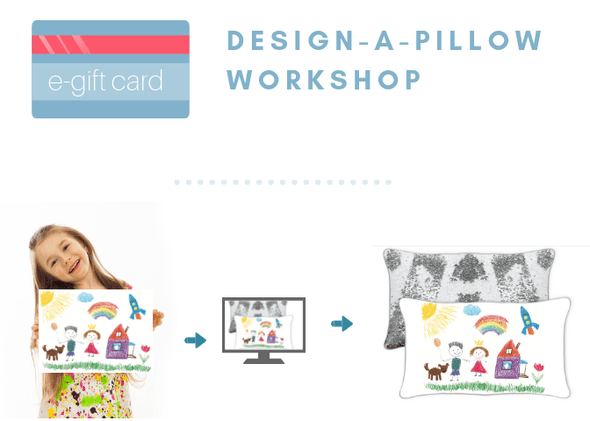Design-A-Pillow Workshop e-Gift Card - Mermaid Pillow Co
