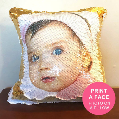 BabyFace: Print a FACE on Reversible Sequins