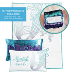 **NEW SLAP BRACELET** - Magic IMAGINE Slap Mermaid Bracelet w/ Reversible Sequins & Velvet Lining - Mermaid Pillow Co
