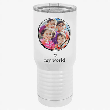 My World Custom Photo Tumbler
