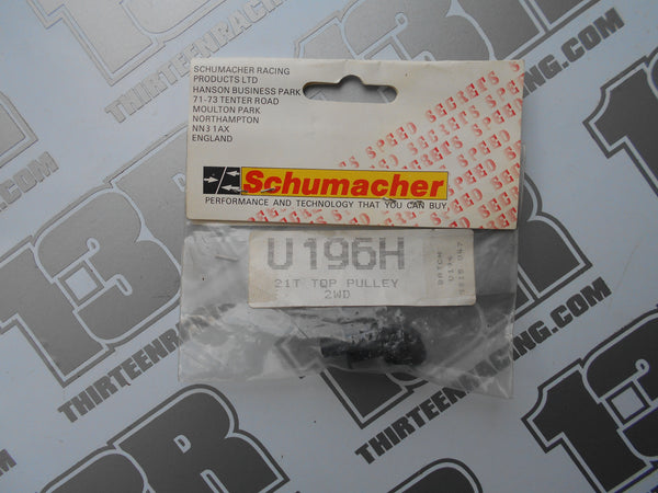 Schumacher 2WD 21T Top Pulley, U196H, Topcat, Cougar, Shotgun, Storm