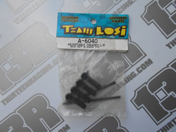 "Team Losi 2.5"" Adjustable Threaded L/R Rod Set W/Ends, A-6040, XXT, XXT CR"