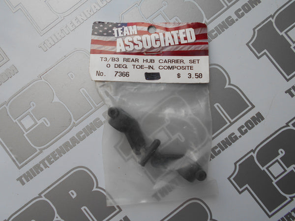 Team Associated RC10 B3/T3 Rear Hub Carriers - 0 Deg Toe - Composite, # 7366