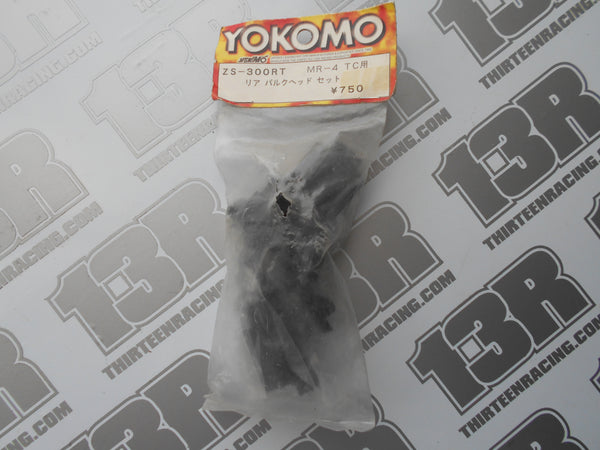 Yokomo MR-4 TC Rear Bulkhead Set, ZS-300RT