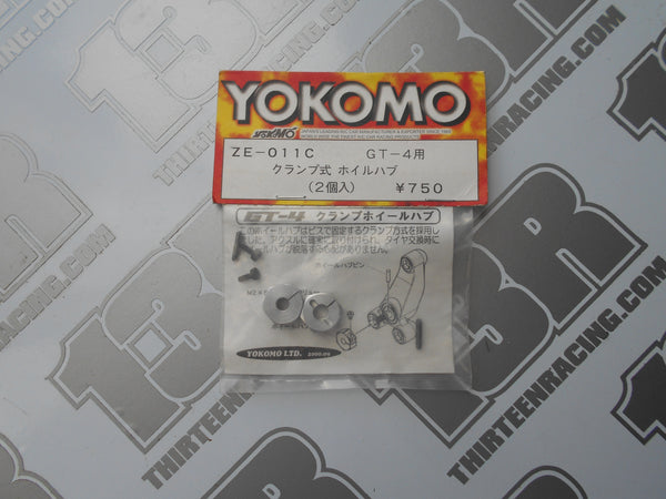 Yokomo GT-4 Clamp Type Alloy 12mm Hex Hubs (2pcs), ZE-011C