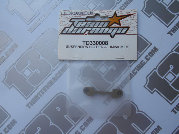 Team Durango DEX410 Aluminium Suspension Holder - RF, TD330008, 2010, R, V3, V4, DESC410