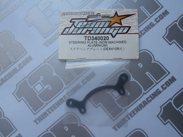 Team Durango DEX410 Aluminium Steering Plate (Non-Machined), TD340020, DESC410