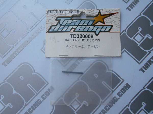 Team Durango DEX410 Battery Holder Pin, TD320009, 2010, R, V3, V4, DESC410