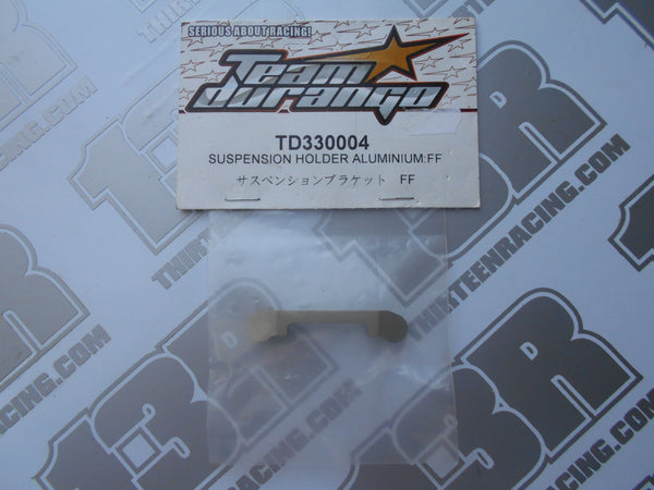 Team Durango DEX410 Aluminium Suspension Holder - FF, TD330004, 2010, R, V3, V4, V5, DESC410