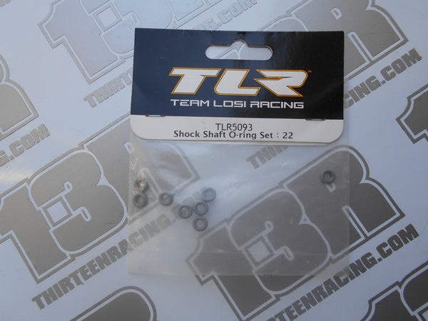 TLR 22 Shock Shaft O-Ring Set (8pcs), TLR5093, 22T, 22-SCT