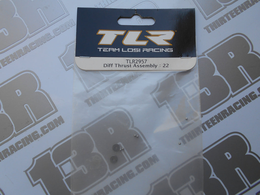 TLR 22 Diff Thrust Assembly, TLR2957, 22T