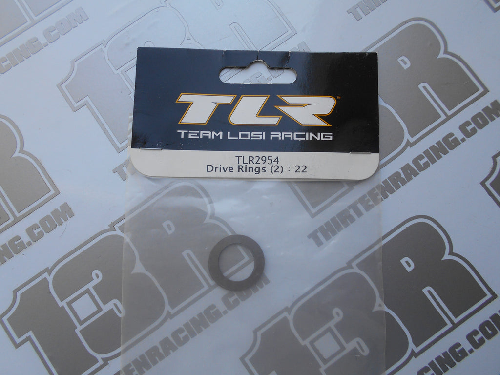 TLR 22 Diff Drive Rings (2pcs), TLR2954, 22T, 22-SCT, 2.0, 3.0, 4.0