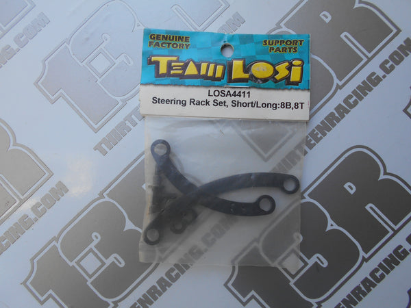Team Losi 8B/8T Steering Rack Set - Short/Long, LOSA4411