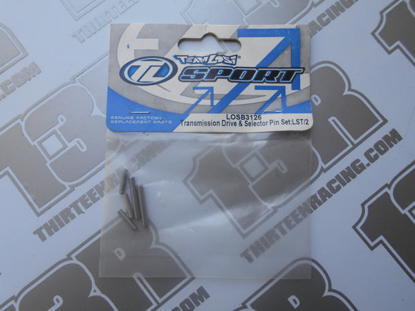Team Losi LST Transmission Drive & Selector Pin Set, LOSB3125, LST 2