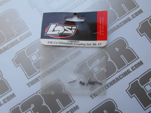 Team Losi 8B/8T F/T Driveshaft Coupling Set, LOSA3523