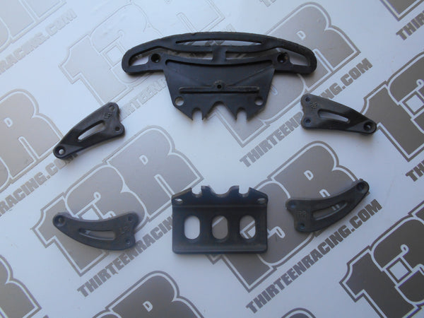 Team Associated TC3 Bumpers & Chassis Braces - Used