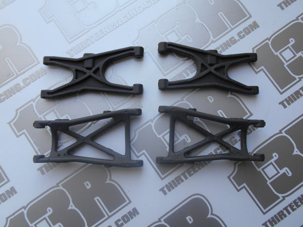 Team Losi XXX4 Front & Rear Graphite Suspension Arms - Used, XXX-4