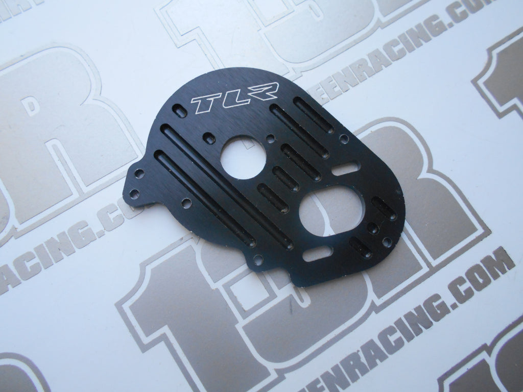 Team Losi XXX-SCT TLR Milled Black Aluiminium Motor Plate - Used, LOSA3041, XXX CR