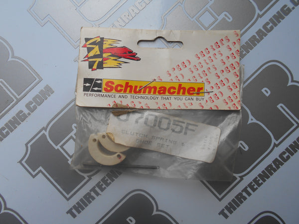 Schumacher Nitro Clutch Spring & Shoe Set (180 deg), U7005F, Nitro 10/21, Big 6, Fusion, Menace, XTR 3E