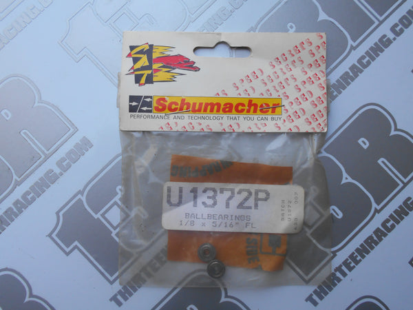"Schumacher 1/8 x 5/16"" Flanged Ball Bearings (2pcs), U1372P, Daytona"