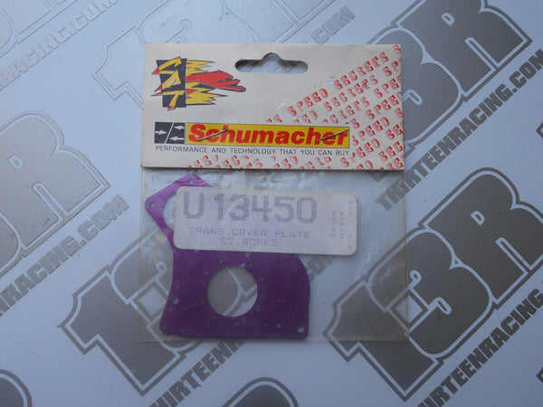 Schumacher Cougar 2 Works Purple Transmission Cover Plate, U1345O, Storm Works