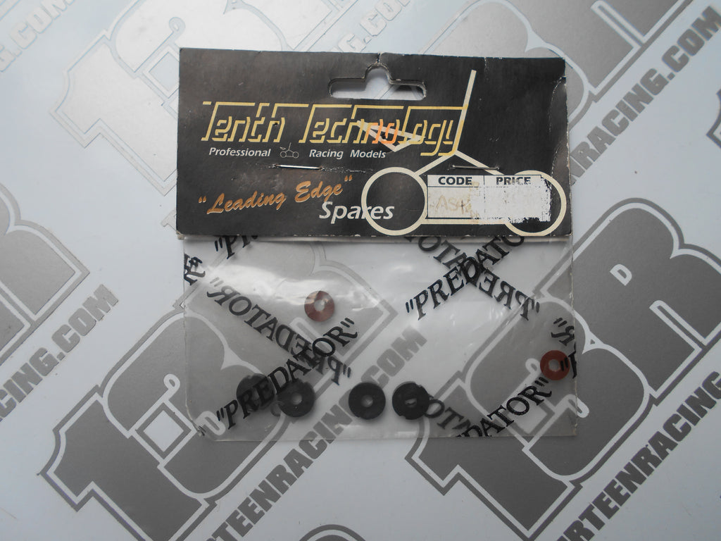 Tenth Technology Predator Shock Piston/Rebound Valve/Clips Set, # AS4, On & Off Road Models