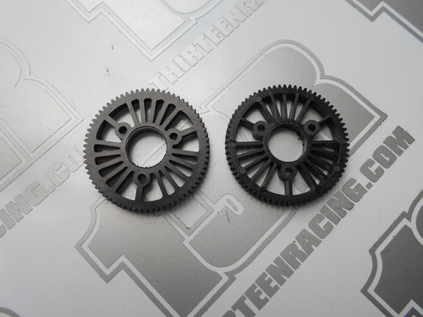 Tenth Technology Predator 70T 48dp Lightweight Spur Gears - Used (2pcs), Non-Slipper Models