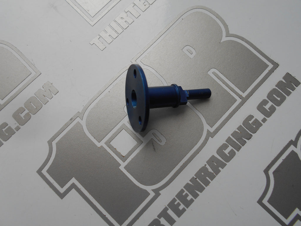 Tenth Technology Predator Blue Aluminium Rear Propshaft Coupling - New Loose, '95, National, DTM