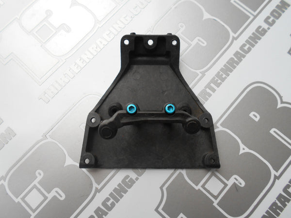 Team Losi XXX Graphite Front Lower Plate & Steering Brace - Used