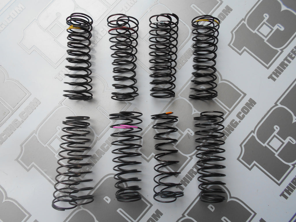 TLR 22 Mixed Lot Of Rear Shock Tuning Springs (8prs) - New/Used, 2.0, 3.0, 4.0, 22-4, 22T